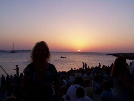 Sonnenuntergang am Café del Mar - Cafe del Mar