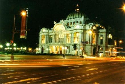 Mexico City, Nationaltheater - Palacio de Bellas Artes