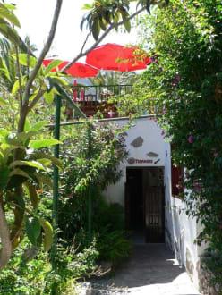 Gefunden! Der Eingang des El Guancha - El Guancha