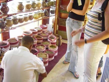 Händler in Downtown - Zentrum Hurghada