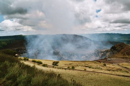 Aktiver Vulkan in Masaya - Vulkan Masaya