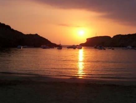 Cala Vadella - Sonnenuntergang - Strand Cala Vadella