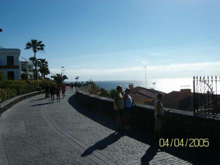 Promenade oberhalb - Strandpromenade Playa del Inglés