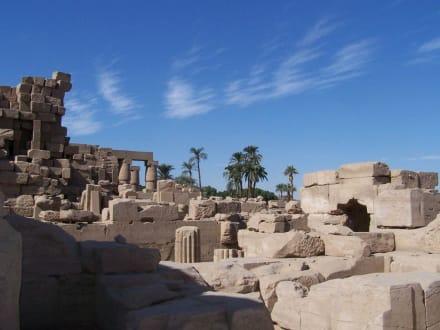 Im Karnaktempel - Amonstempel Karnak
