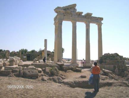 Ruinen des Apollo Tempels - Apollon Tempel