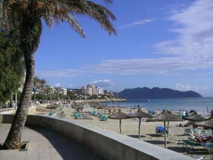 Strand von Cala Millor - Strandpromenade Cala Millor