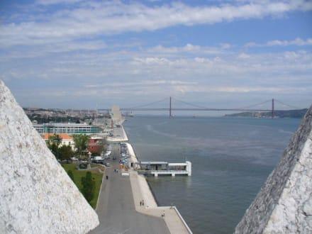Blick Richtung Entdeckerdenkmal - Torre de Belem