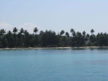 Koh Maak von Board der Thaifun - Bootstour Thaifun Koh Chang