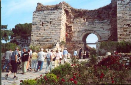 Eingang zur Johannesbasilika - Johannesbasilika