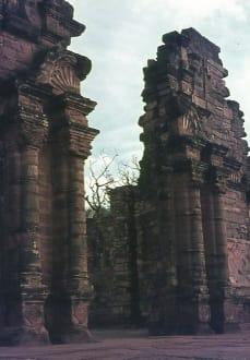 Die Ruinen von San Ignacio Mini - San Ignacio Mini