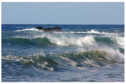 Wellen am Strand von Tazacorte - Strand Tazacorte