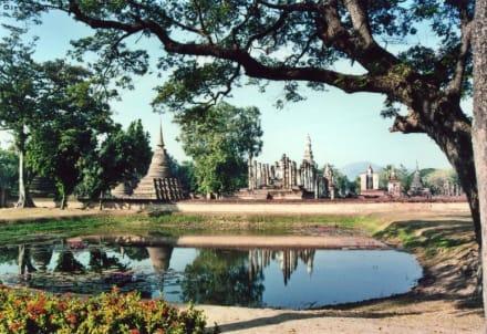 Die Ruinen von Wat Mahathat - Sukhothai Historical Park