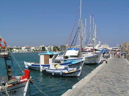 Hafen in Kos Stadt - Hafen Kos Stadt