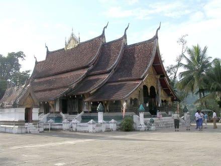 Ein Wat in Luang Prabang - Tempelanlage in Luang Prabang