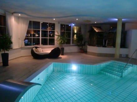Poolbereich - Wohlfühlhotel Berwanger Hof