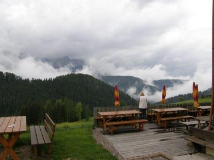 Ausblick - Naturpark Hotel Stefaner