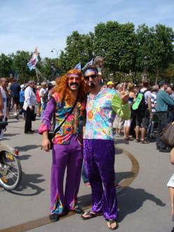 Zwei Fans - Le Tour de France
