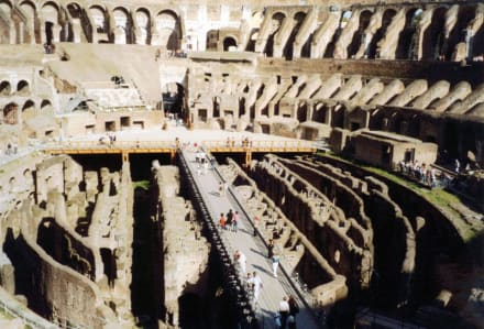 Colosseum von oben - Kolosseum