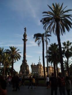 Siegessäule am Hafen - Kolumbusdenkmal