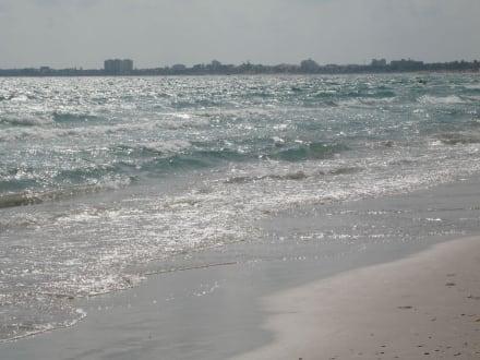Blick auf die Stadt Mahdia - Strand Mahdia