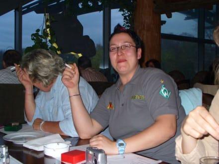 """Alex""""agressiv, Werder-Fan""""! Barbara verstecken! - HolidayCheck User-Treffen Nord"""