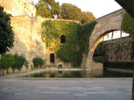 Außenanlage des Palau de L`Almudaina - Königspalast L'Almudaina