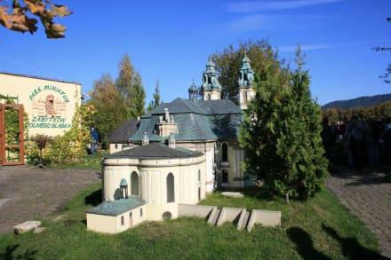 Gartenanlage des Miniaturenparkes - Miniaturenpark der niederschlesischen Denkmäler