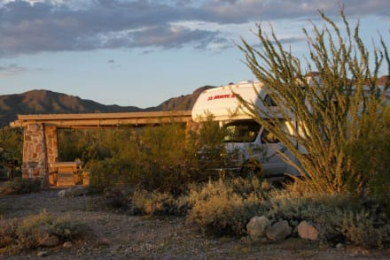 Campground - Tucson Mountain State Park