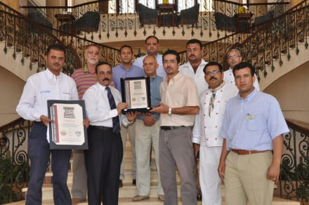 Receiving the certification -