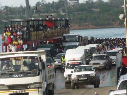 Fähre Mombasa - Likoni Fähre von Mombasa