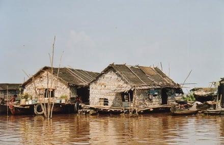 Dorfidylle im See - Dorf Chong Kneas