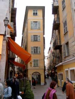 In den Gassen der Altstadt von Nizza - Altstadt Nizza