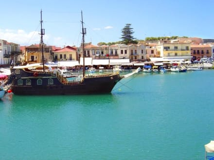 Rethymnons Hafen - Altstadt Rethymno