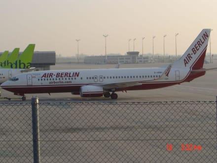 Air Berlin in München - Besucherpark Flughafen München