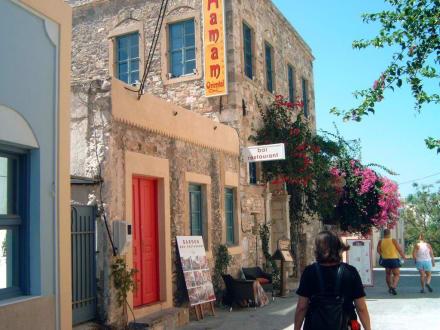 Restaurant im Hamam aus dem 16. Jh. - Hamam Oriental
