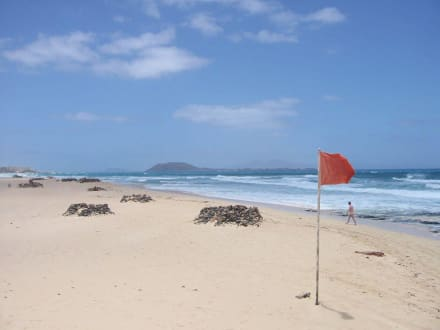 Strand außerhalb von Corralejo - Strände Corralejo