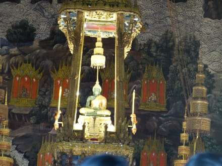 Smaragdbuddha - Wat Phra Keo und Königspalast / Grand Palace