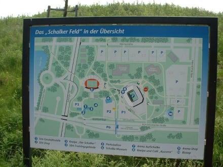 Arena Auf Schalke (jetzt Veltins-Arena) - Schalker Feld - Schalke 04 Veltins-Arena