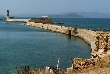 Hafenpromenade von Chania - Hafen Chania