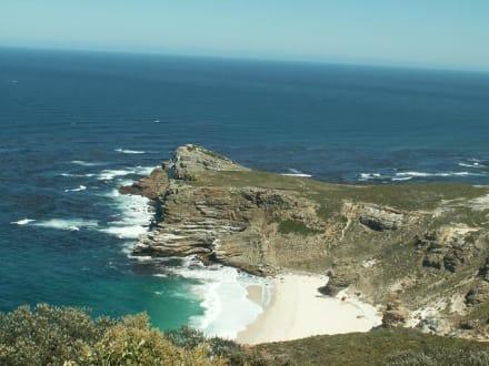 Blick vom Leuchtturm auf das Kap - Kap der Guten Hoffnung