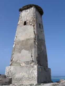 der alte Leuchturm auf Grande Roque - Los Roques