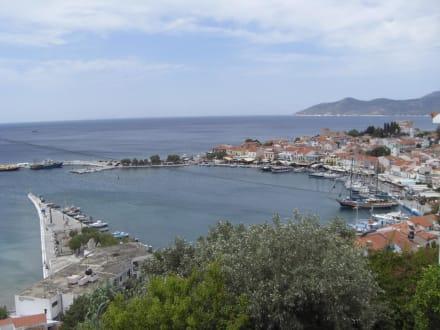 Der Hafen von Pythagorion - Hafen Pythagorion