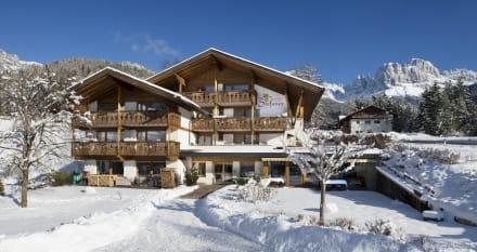 Hotel Stefaner im Winter - Naturpark Hotel Stefaner