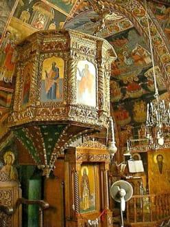 In der Kirche von Lindos - Panagia Kirche