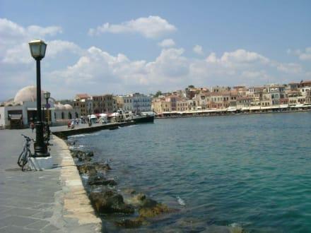 der Hafen von Chania - Hafen Chania
