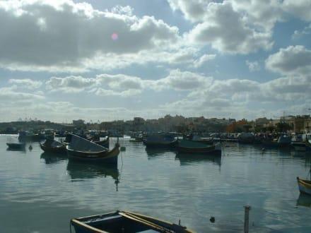 Fischerreihafen von Marsaxlokk - Hafen Marsaxlokk
