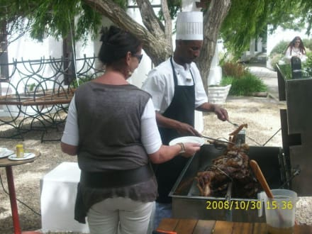 Karoo Lamb vom Spieß - Backsberg Weingut
