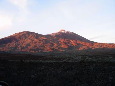Sonnenuntergang am Teide - Teide Nationalpark