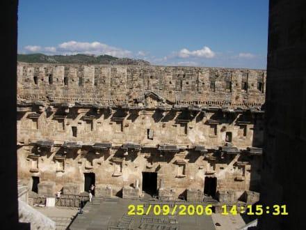 Theater - Theater von Aspendos