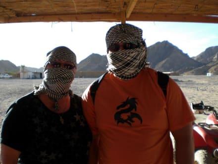 Die Wüstenpiraten - Jeep Safari Hurghada